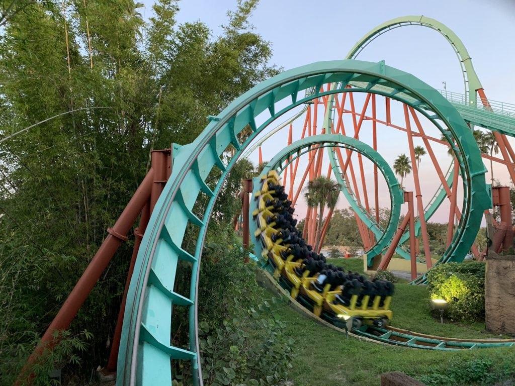 Roller Coaster Busch Gardens
