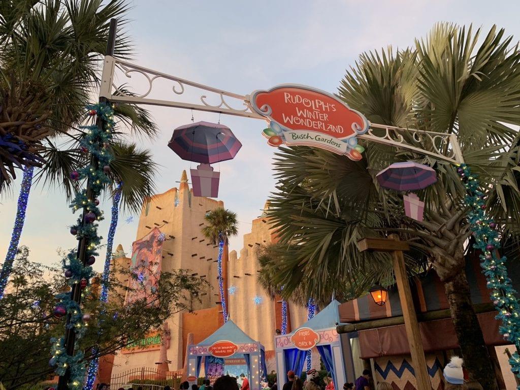 Rudolphs Winter Wonderland Busch Gardens Christmas Town Tampa Bay