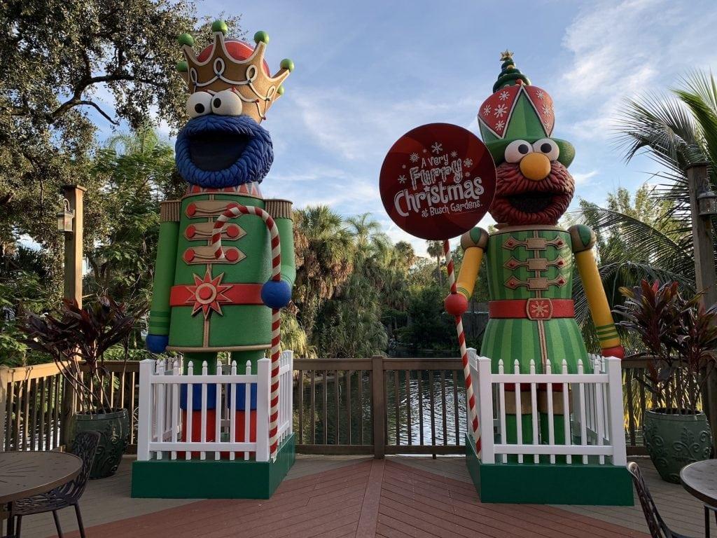 Sesame Street Busch Gardens Christmas Town Tampa Bay