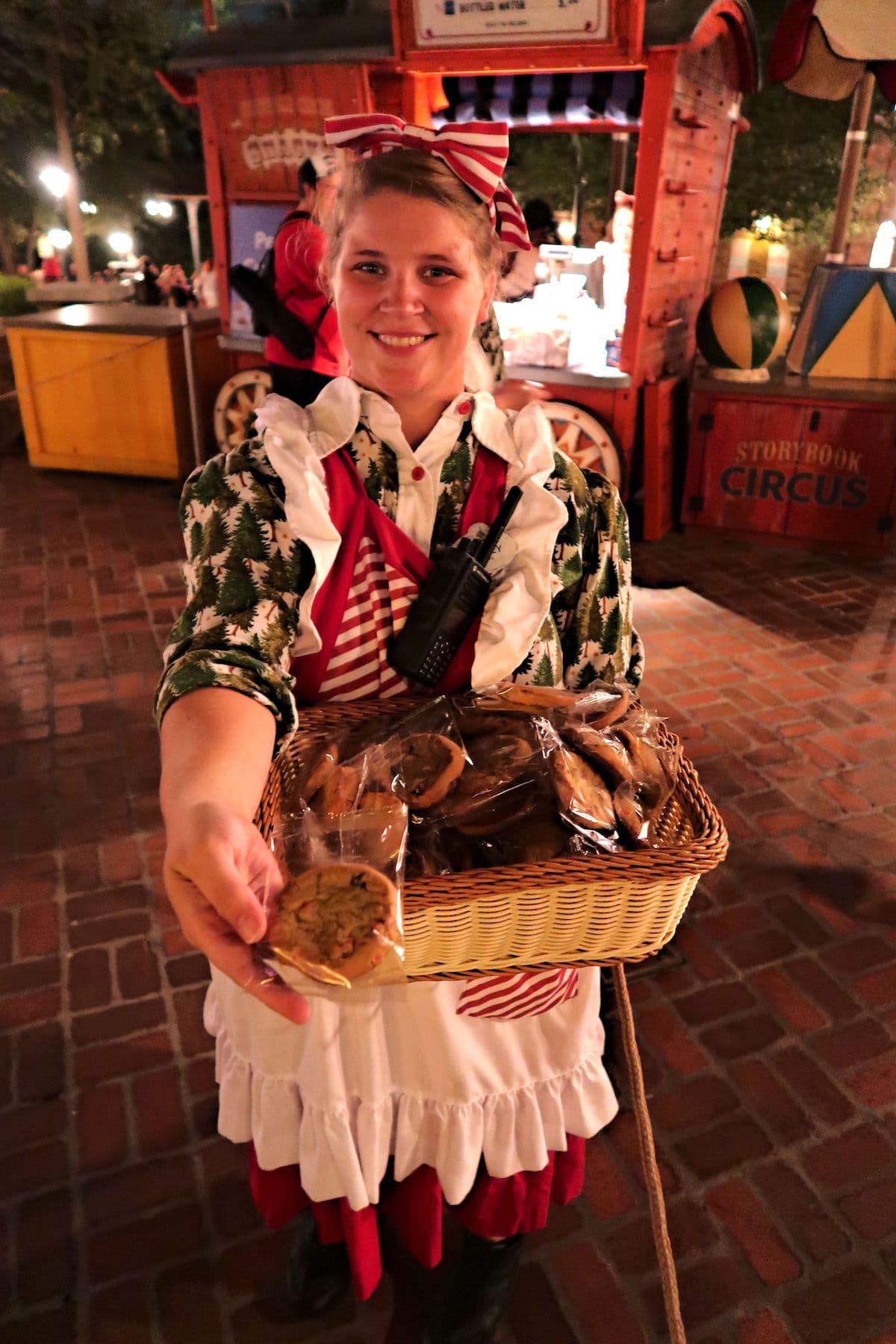 Treats at Mickeys Very Merry Christmas Party Magic Kingdom