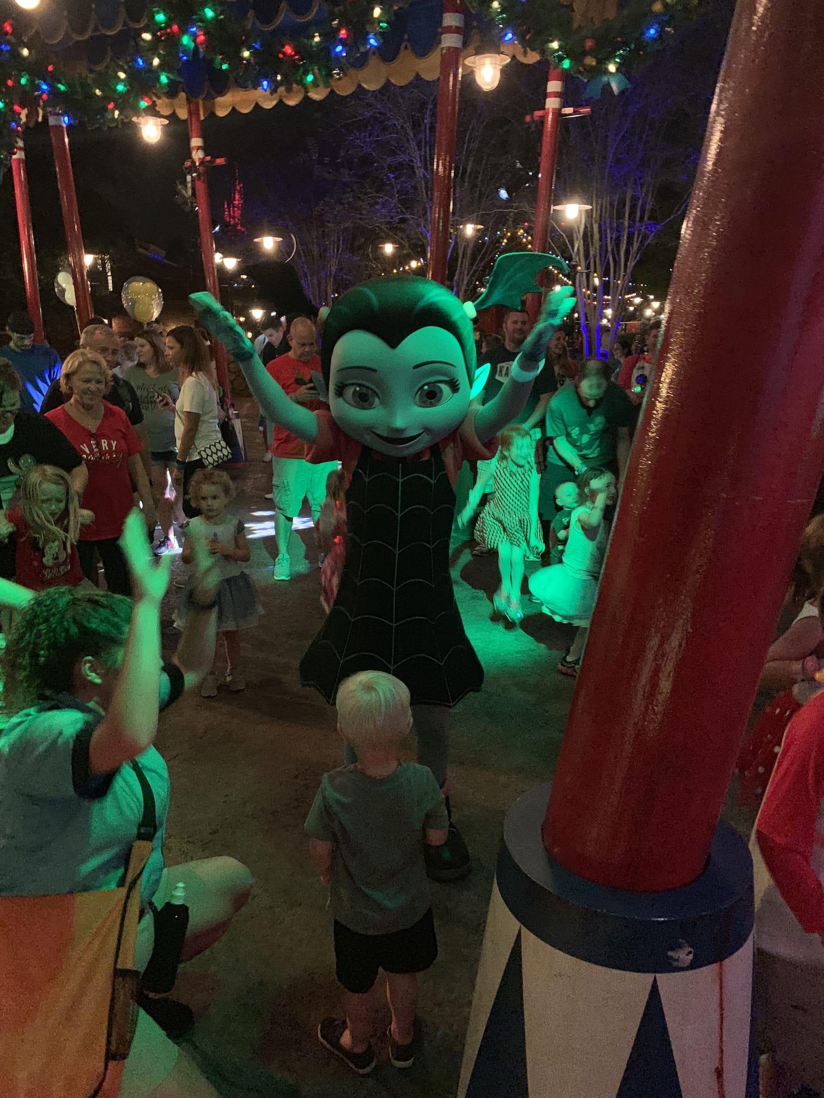 Vampirina Mickey's Very Merry Christmas Party Magic Kingdom