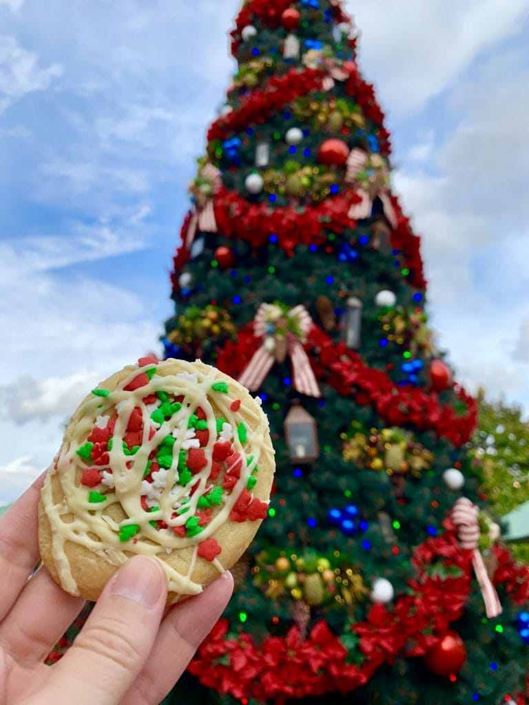 Epcot Holiday Cookie Stroll America Christmas