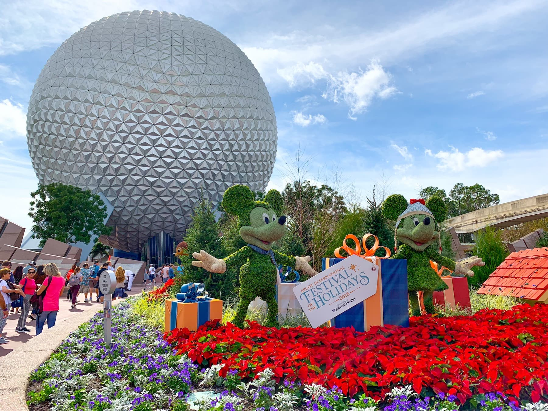 Enjoy Holiday Traditions Around the World at Epcot - Kim and Carrie