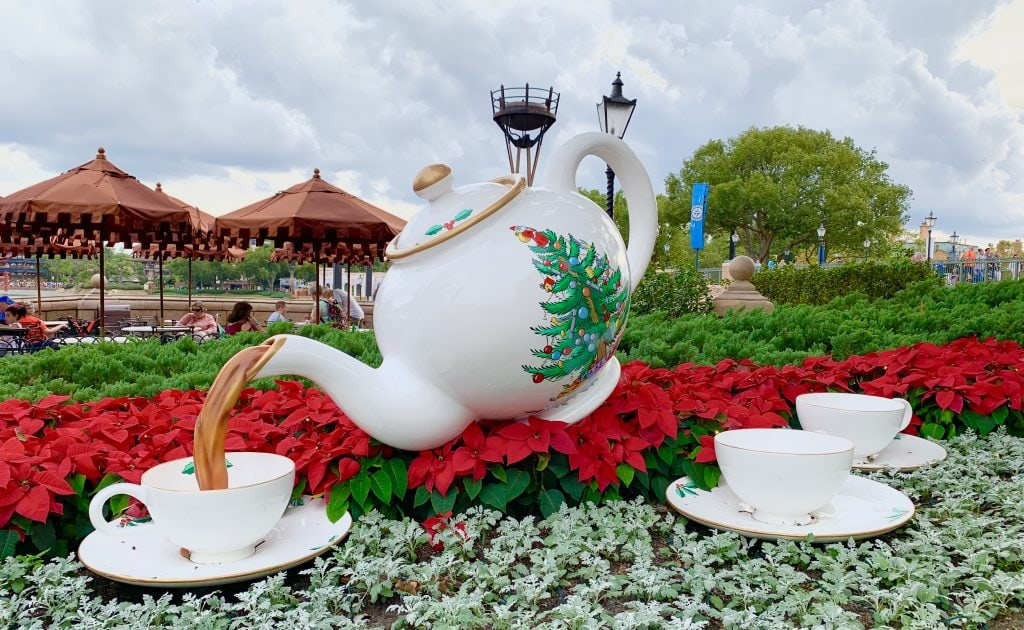 Epcot Tea Pot United Kingdom Pavilion