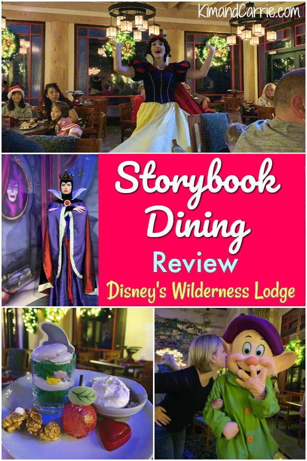 Storybook Dining Review at Disneys Wilderness Lodge Artist Point