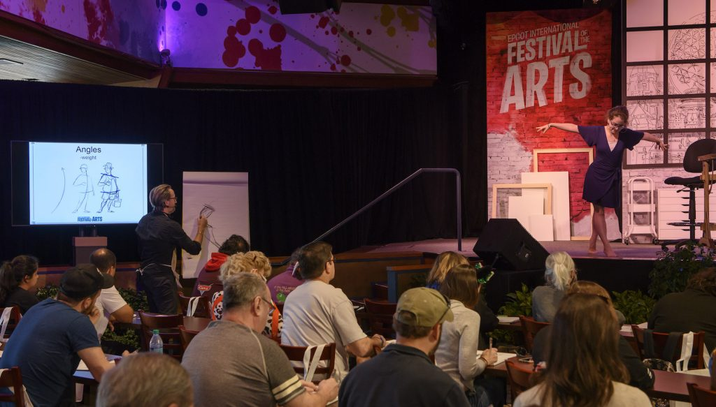 epcot festival of the arts seminar