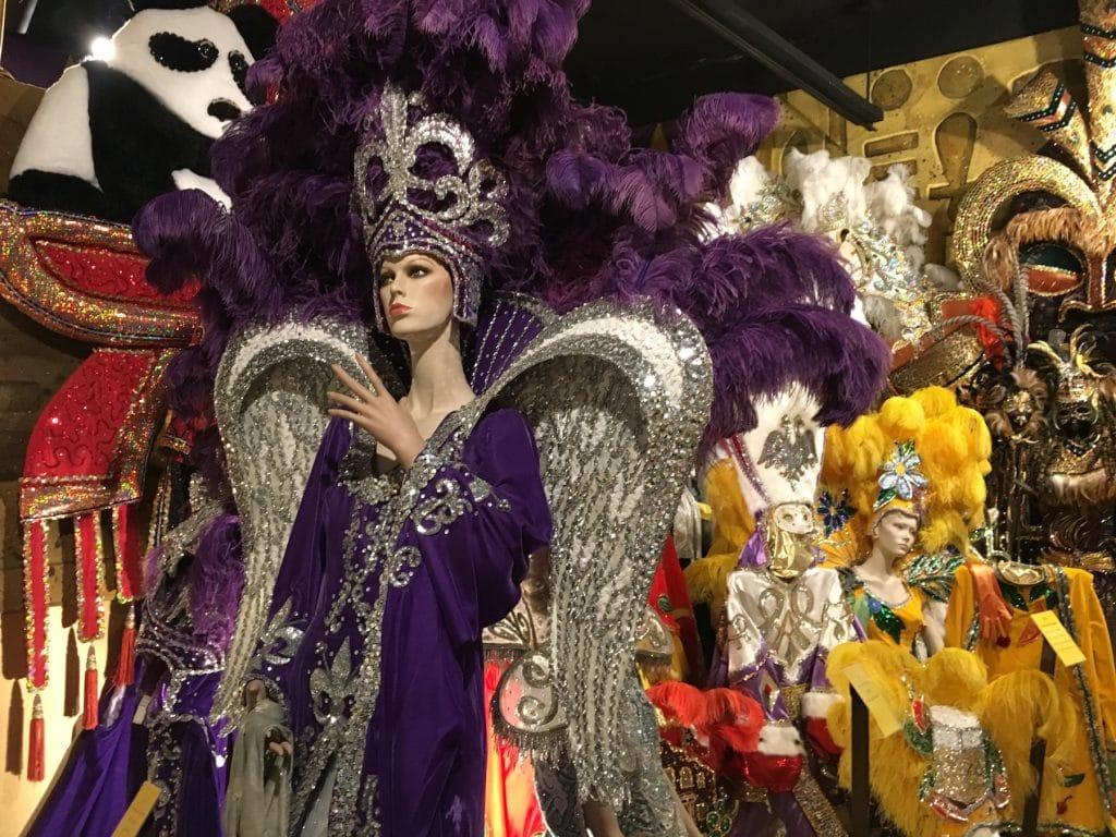 Mardi Gras Costumes Lake Charles Museum