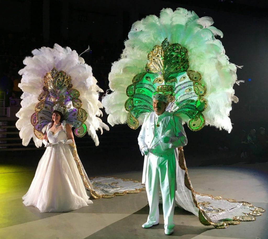 Mardi Gras Krewe Costumes Lake Charles Gala