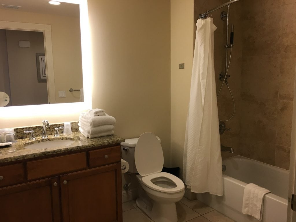 bathroom at Westin Cape Coral hotel