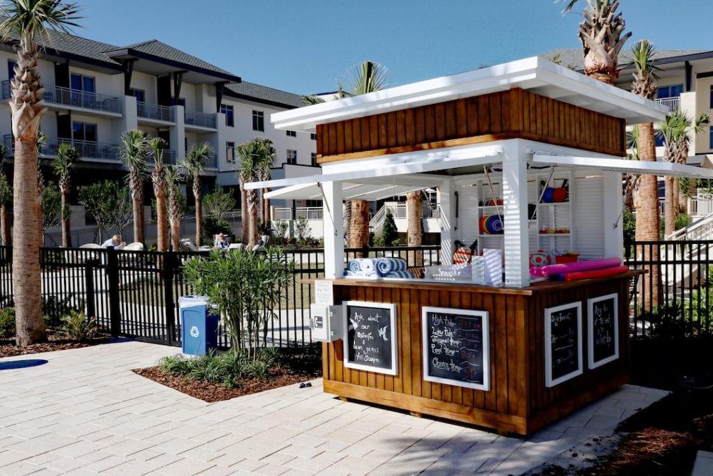 Embassy Suites St. Augustine Beach Oceanfront Resort Pool Area