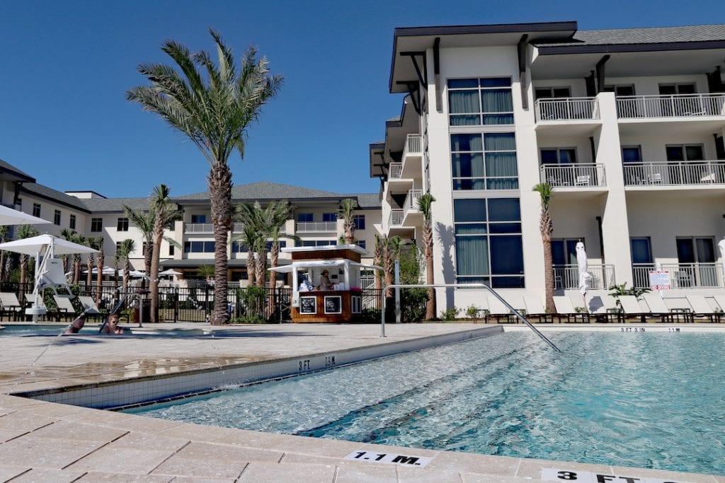 pool embassy suites st augustine beach oceanfront resort