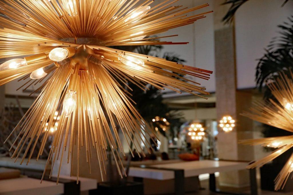 light burst lamp Embassy Suites St. Augustine Beach Oceanfront Resort