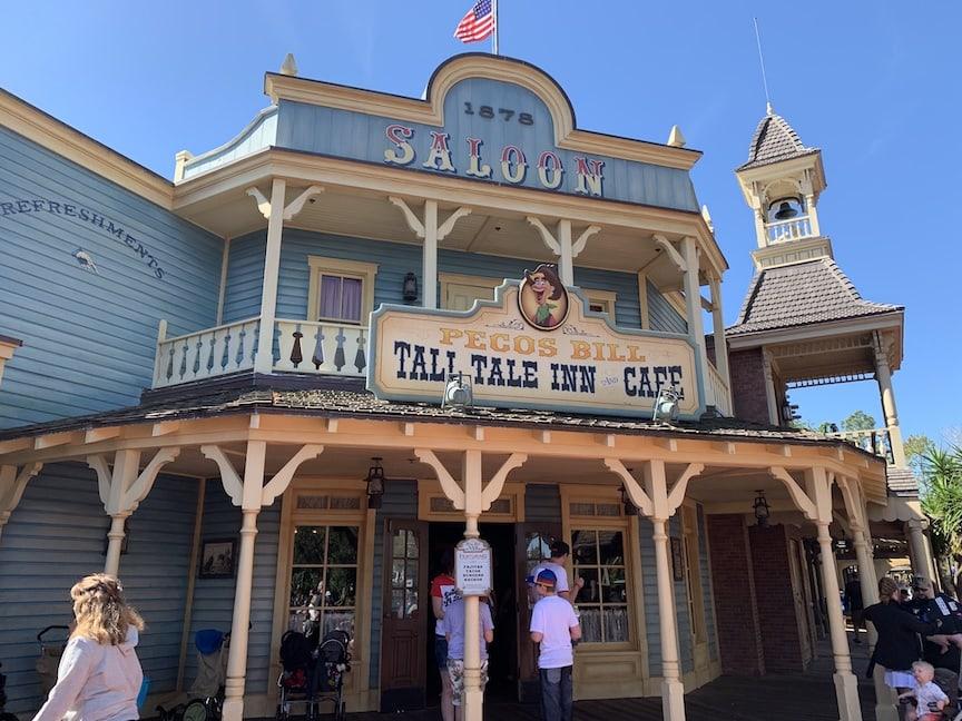 Pecos Bill Cafe Magic Kingdom Walt Disney World Restaurant