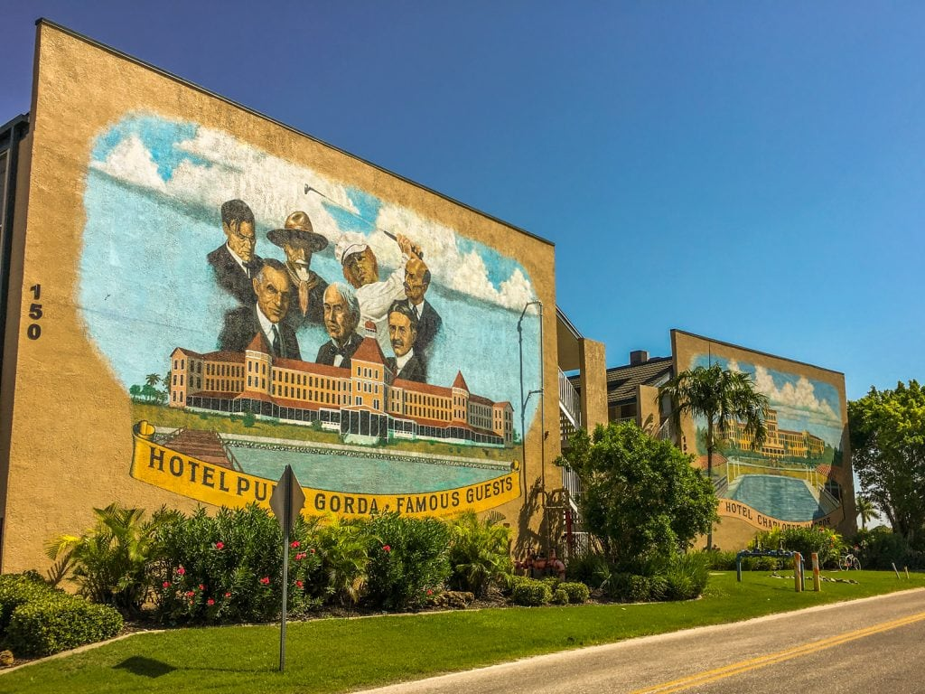punta gorda fl historic murals downtown