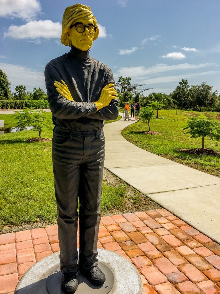 Punta-Gorda-FL-peace-river-botanical-sculpture-gardens-yellow-andy