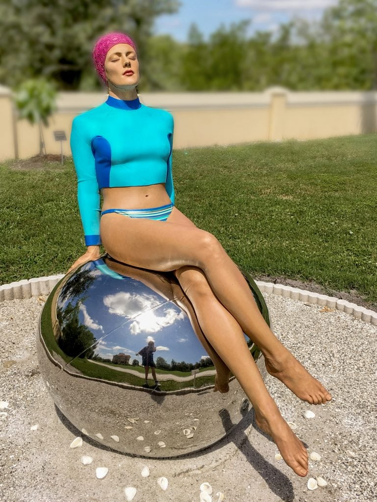 Punta-Gorda-FL-peace-river-botanical-sculpture-gardens-art-bibi on the ball-feuerman