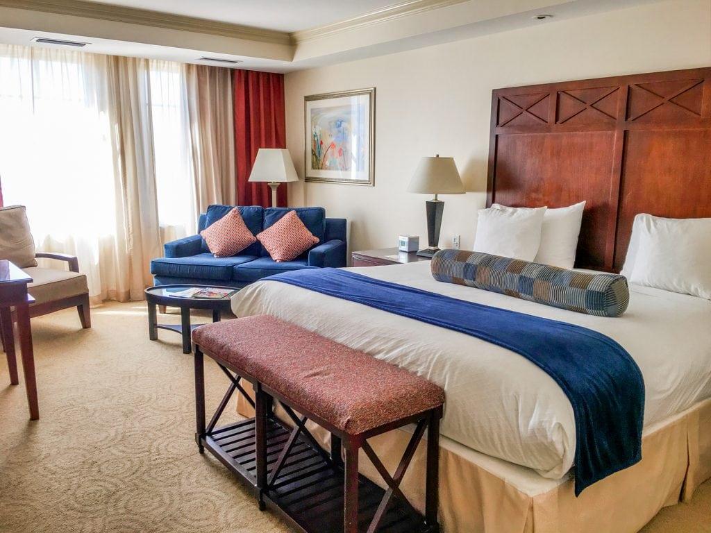 Wyvern Hotel room Punta Gorda fl