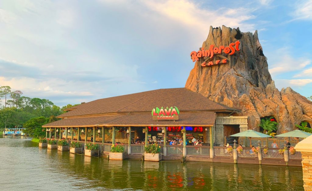 Rainforest Cafe Landrys Select Club Walt Disney World Restaurants Secrets