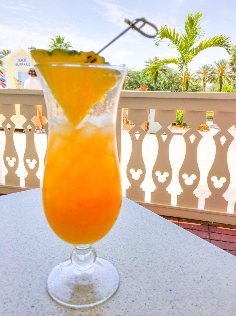 cocktail Olivias cafe restaurant old key west resort