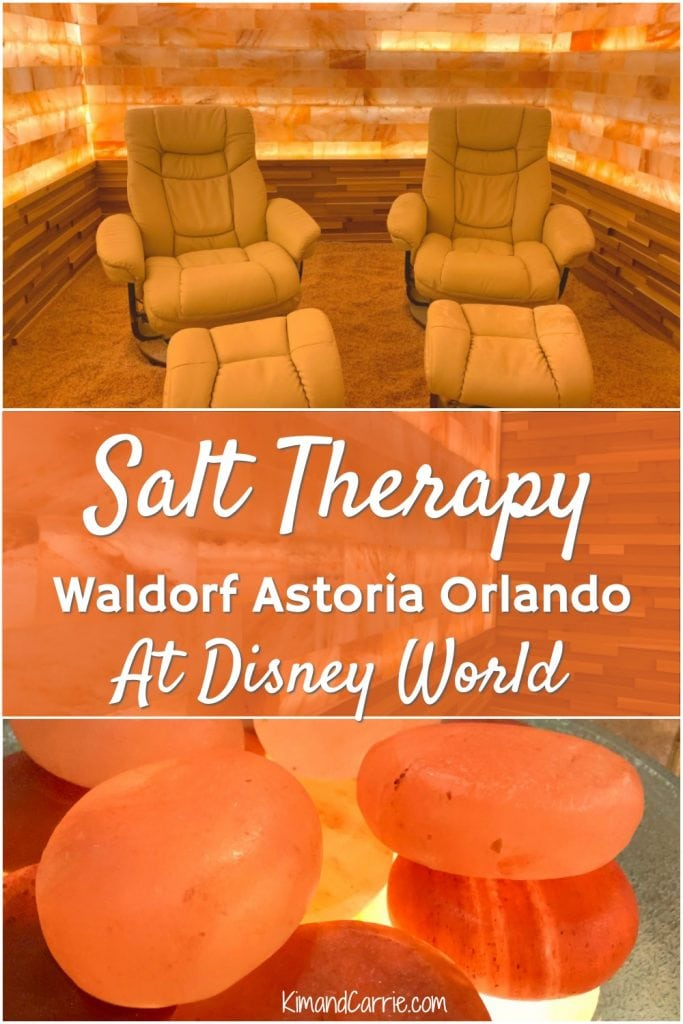 salt therapy spa treatments at Waldorf Astoria orlando