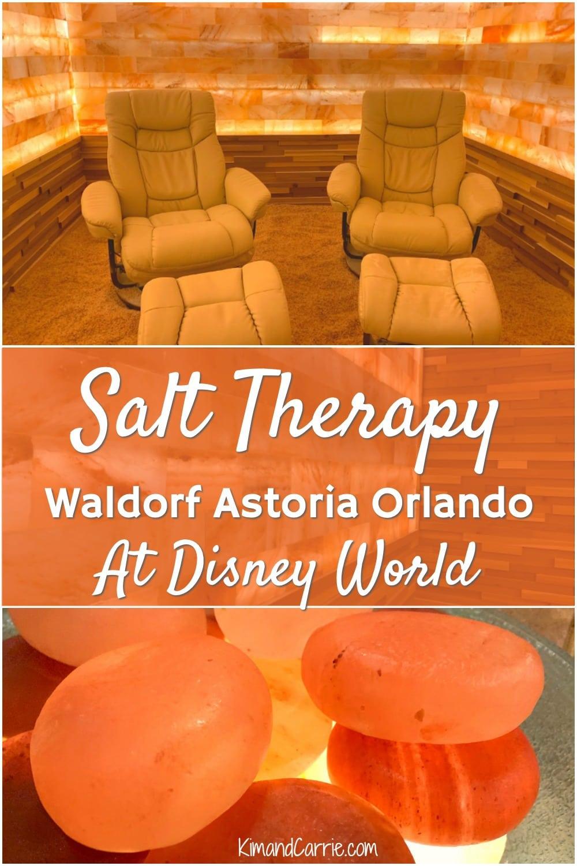 Himalayan Salt Therapy Room at Waldorf Astoria Orlando
