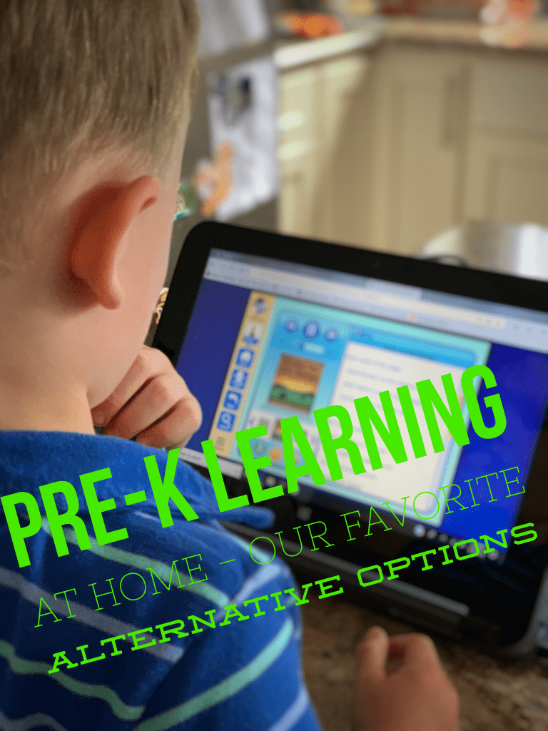 Pre-K Learning At Home – Our Favorite Alternative Options