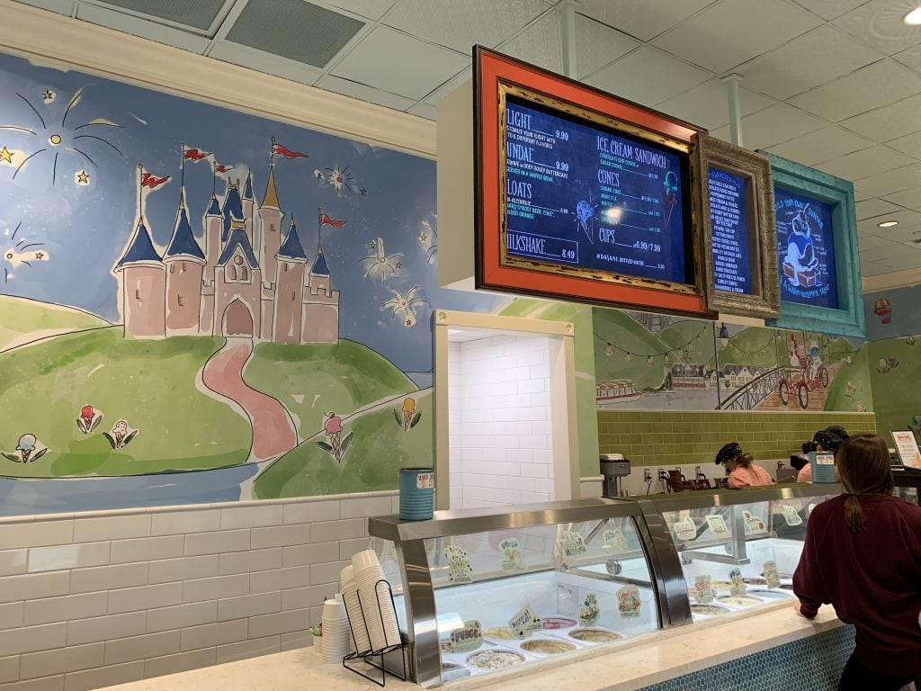 ample hills creamery ice cream store walt disney world boardwalk free food samples