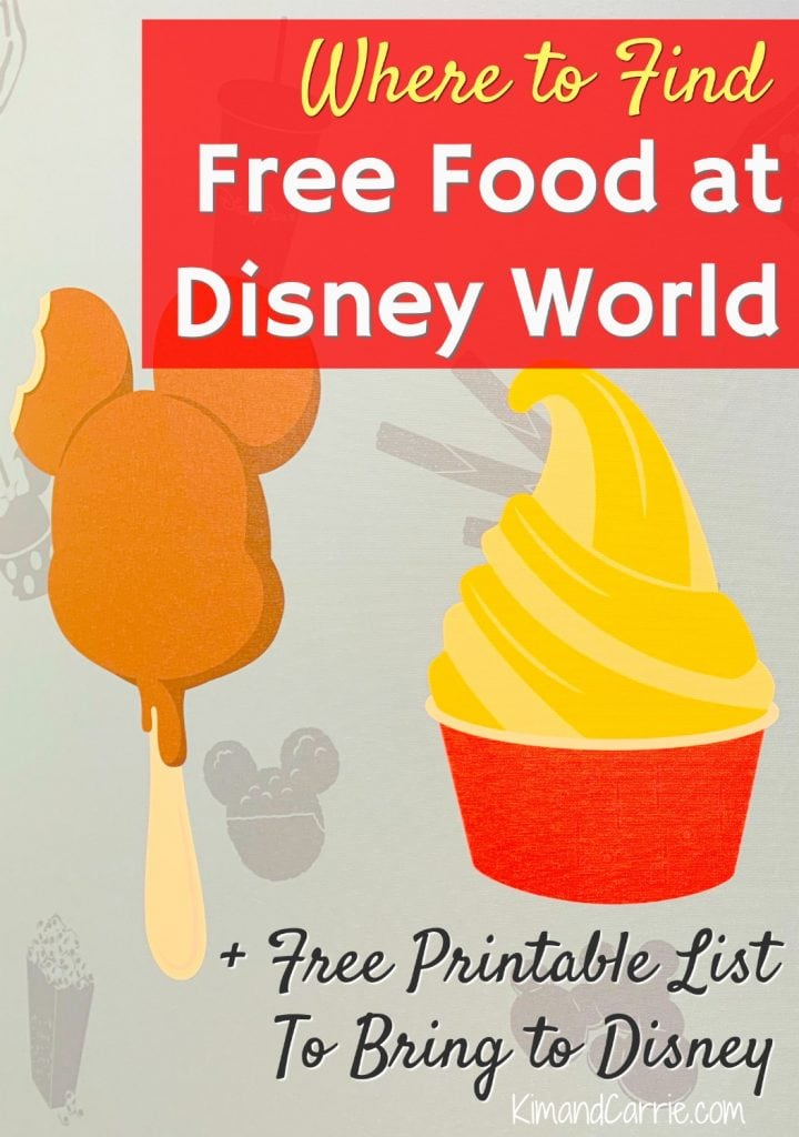 Free Food at Disney World