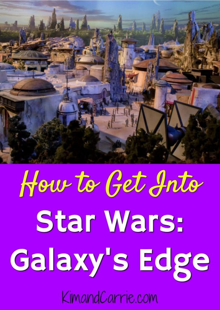 How to Get Into Star Wars Galaxys Edge