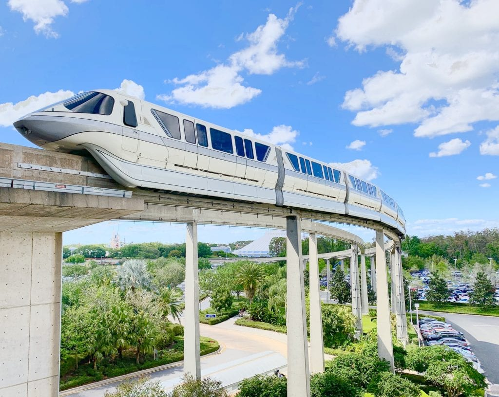 Monorail Walt Disney World