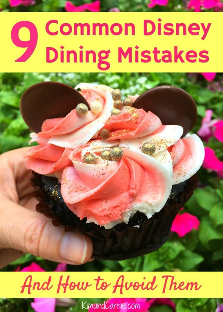 Mickey Mouse Ears Cupcake Disney Dining