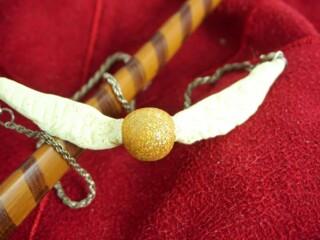 Golden Snitch Necklace Harry Potter DIY