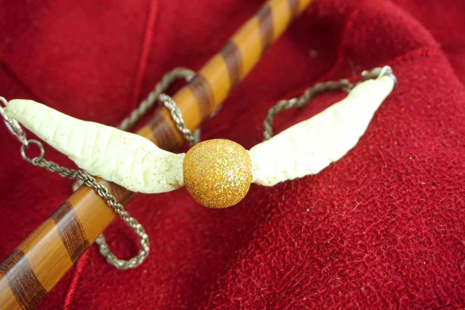 Harry Potter Crafts Collier Diy Golden Snitch Parc D