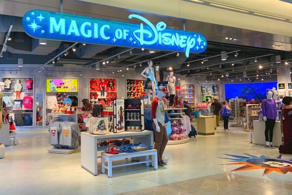 Magic of Disney store Orlando Airport