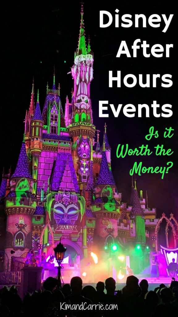 Disneys Villains After Hours at Magic Kingdom Event