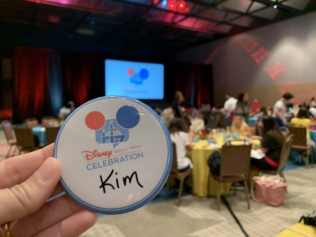 Disney Social Media Celebration name tag