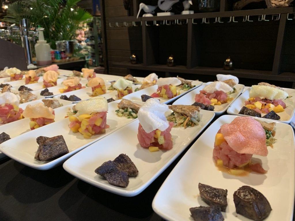 Polynesian resort menu samplerDisney World Highway in the Sky Dine Around Progressive Dinner