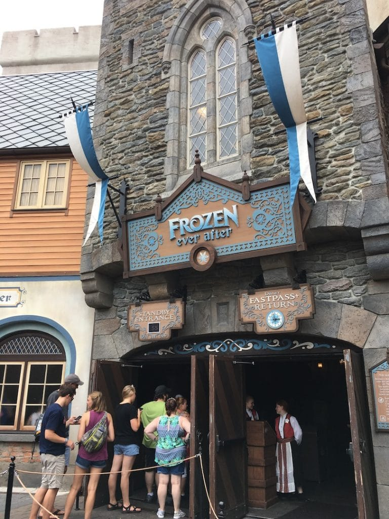 frozen ever after ride Walt Disney world