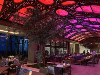 Gran Destino Tower Disney World Toledo Restaurant Ceiling