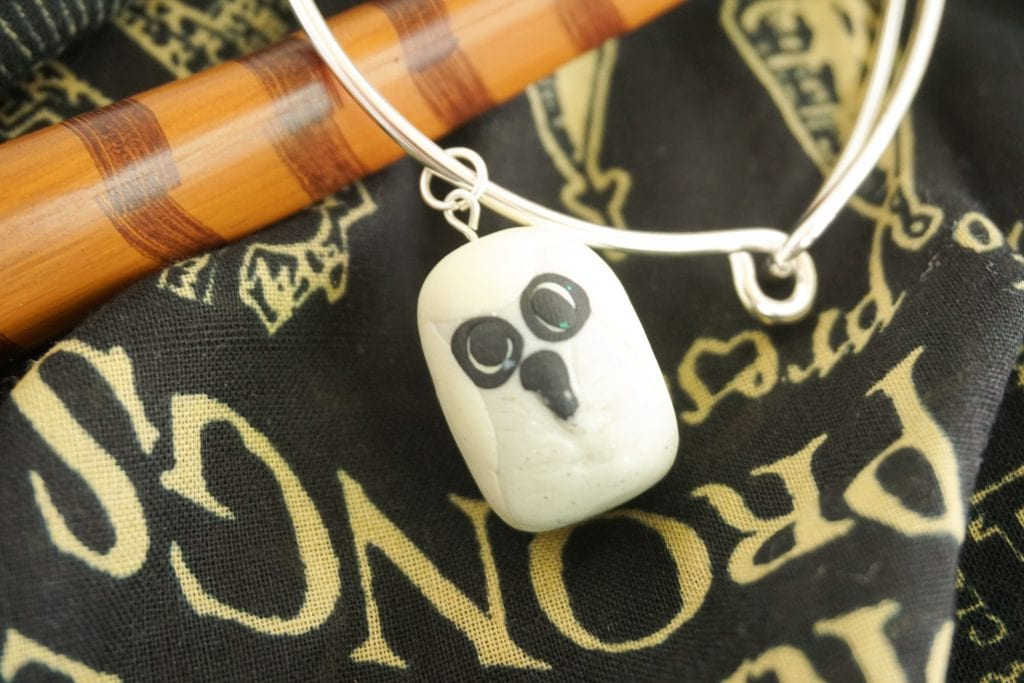 Harry Potter Hedwig Owl Charm