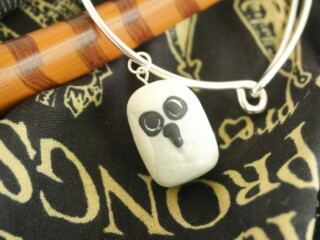 Harry Potter Hedwig Owl Charm