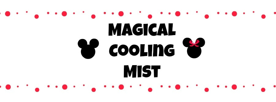 Magical Cooling Mist Label Example