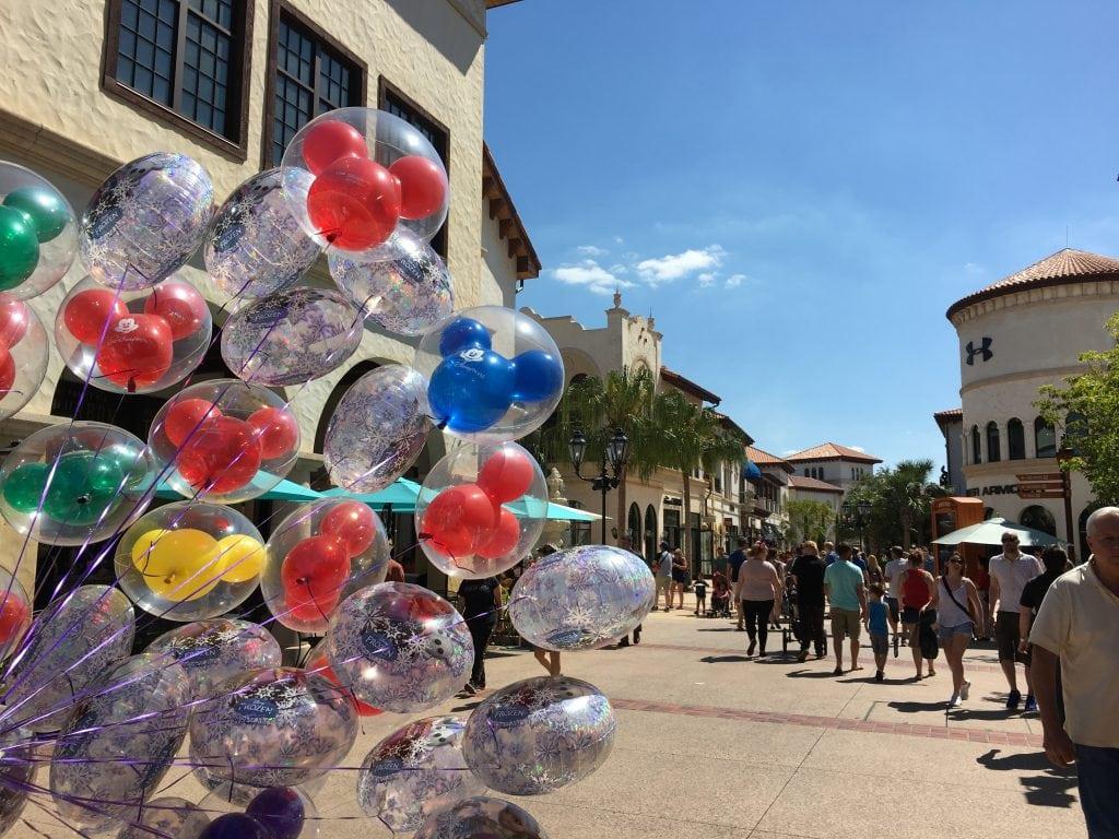 Mickey Mouse Balloons Disney Springs orlando florida