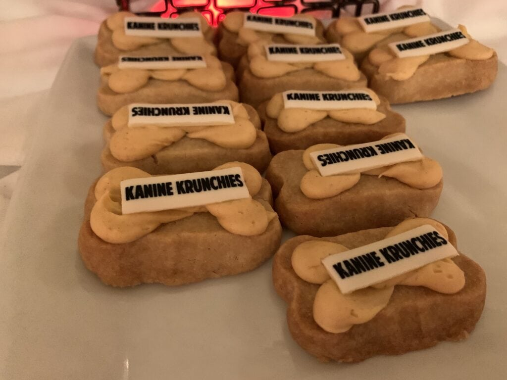 dog bone shortbread cookies