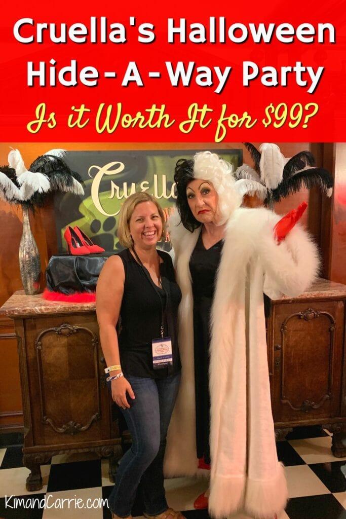 Cruella's Halloween Hideaway party review