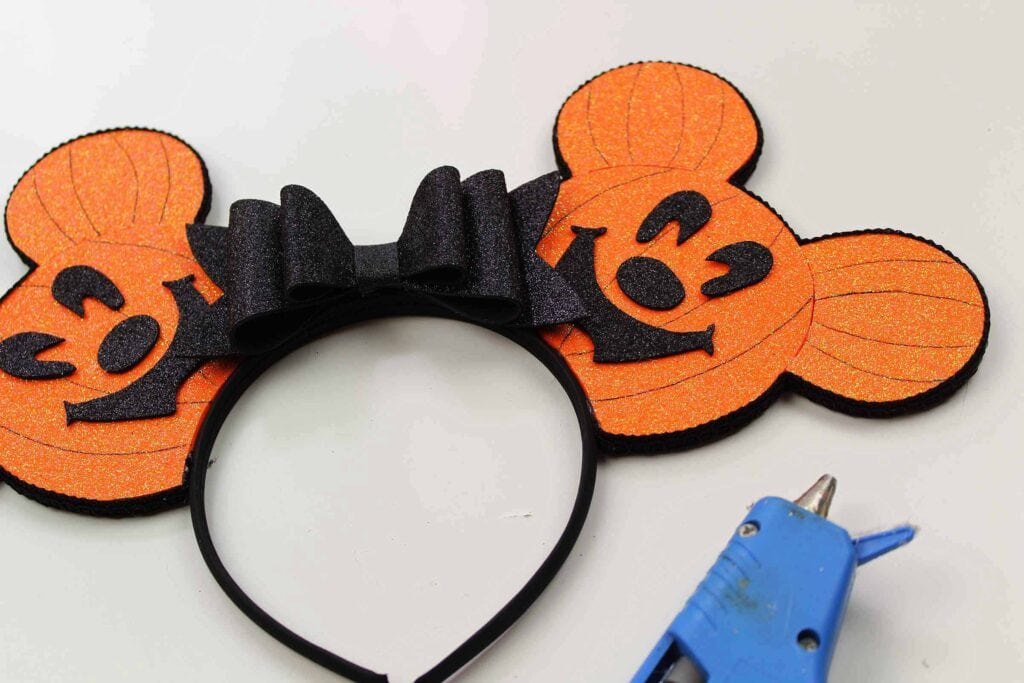 Halloween Mickey Mouse Ears Headband for Mickey's Not So Scary Halloween Party