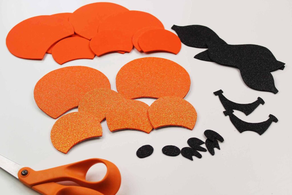 Halloween Mickey Mouse Ears DIY shapes for headband