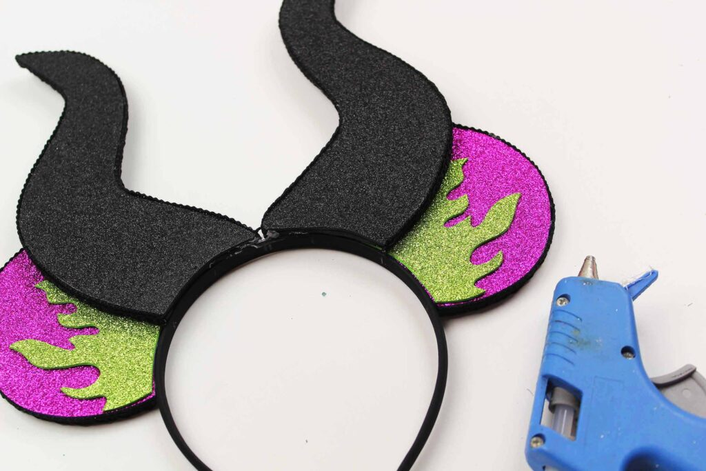 maleficent Mickey Mouse ears diy costume