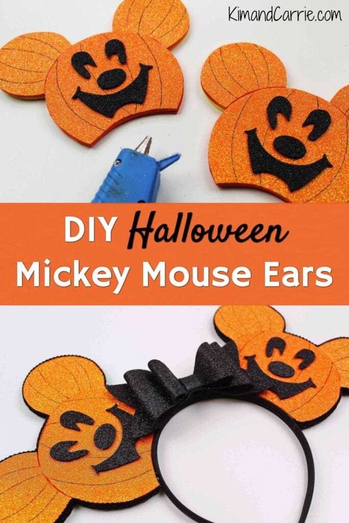 diy halloween mickey ears mickey's not so scary halloween party