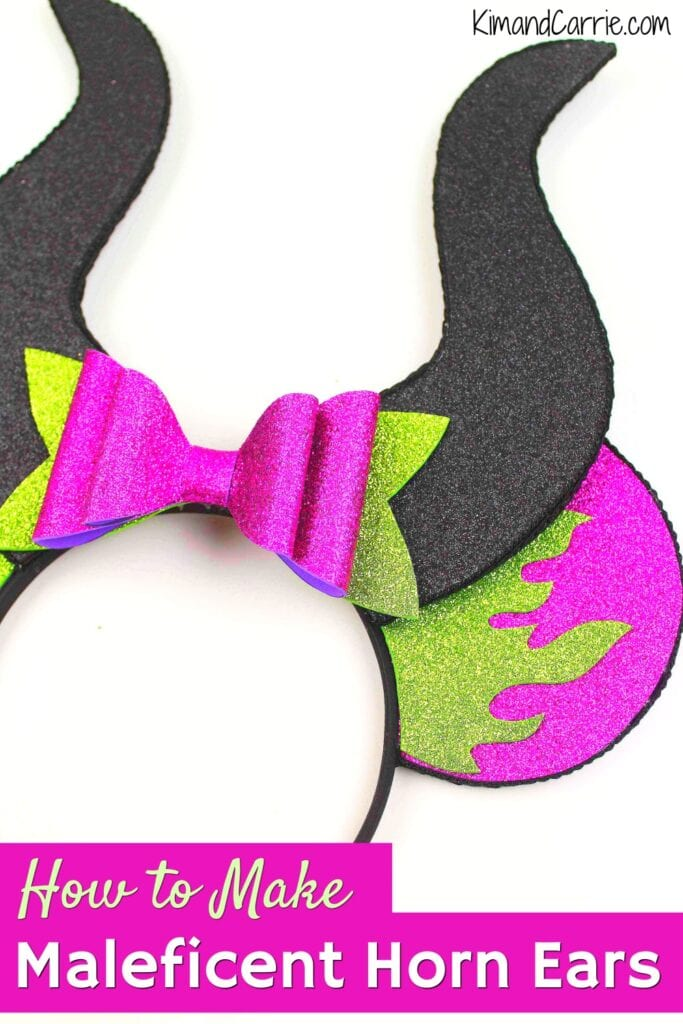 how to make maleficent horns diy ears for halloween